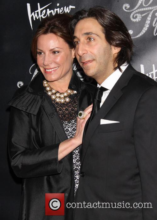 Countess Luann De Lessups and Jacques Azoulay 1
