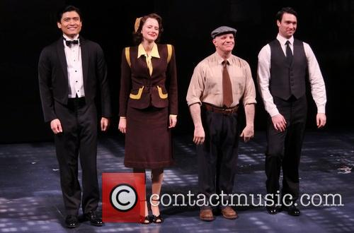 Opening night of 'Breakfast at Tiffany's' at the Cort Theatre