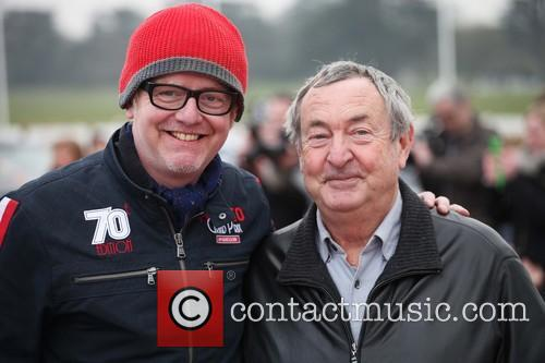 Chris Evans and Nick Mason 2