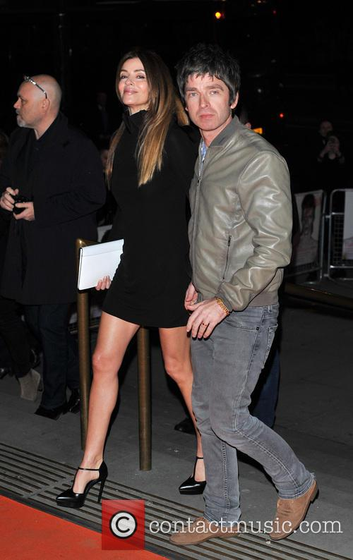 Noel Gallagher and Sara Mcdonald 2
