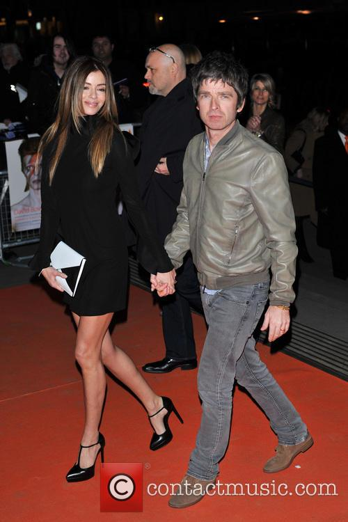 Noel Gallagher and Sara Mcdonald 3
