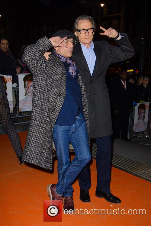 David Bowie and Bill Knighy 1