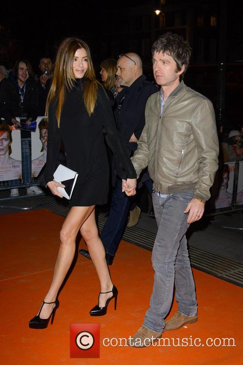 Noel Gallagher and Sara Mcdonald 8