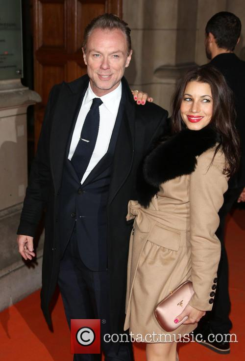 Gary Kemp and Wife Lauren Barber 8
