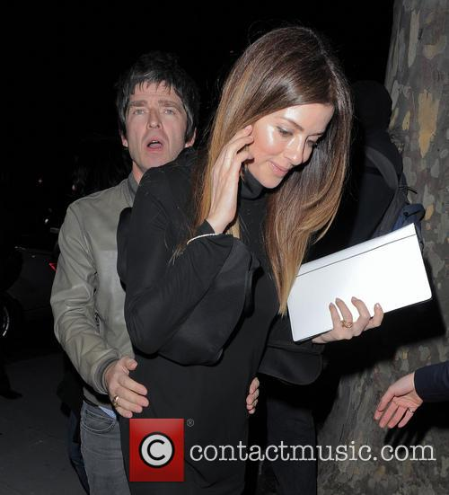 Sara Macdonald and Noel Gallagher 1