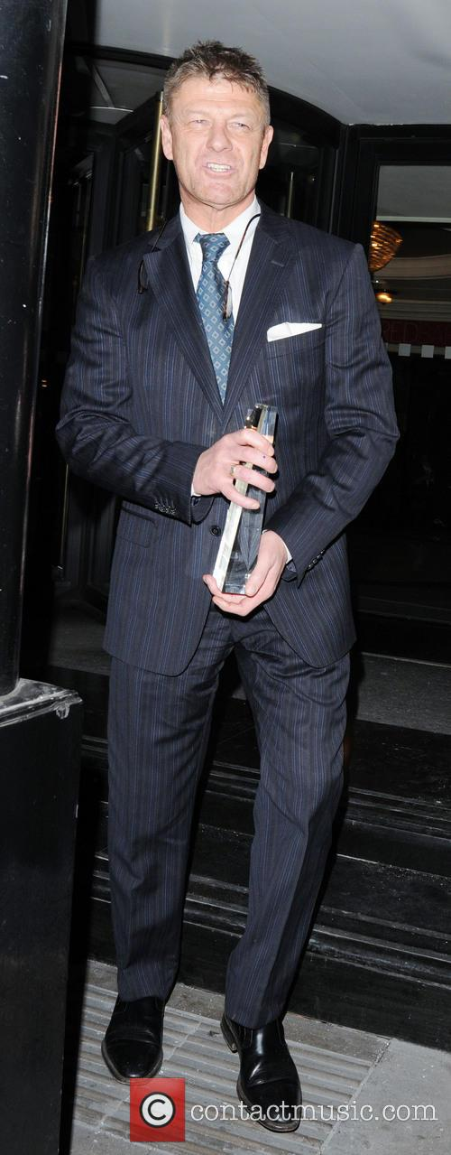 sean bean celebrities outside the royal television 3565290