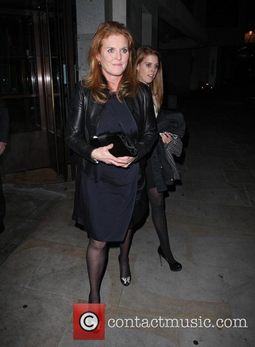 Sarah Ferguson, Duchess of York and Princess Beatrice 3