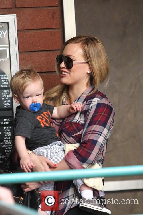 Hilary Duff, Luca and Sherman Oaks 3