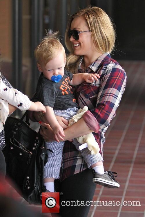 Hilary Duff, Luca and Sherman Oaks 6