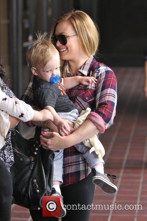 Hilary Duff, Luca and Sherman Oaks 8