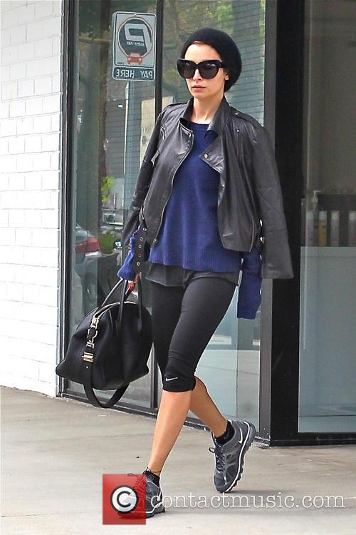 Nicole Richie seen leaving the gym
