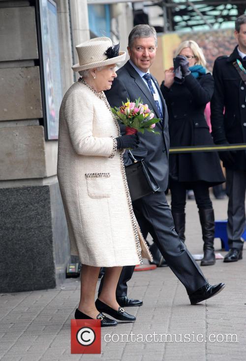 queen elizabeth ii members of the royal 3565450