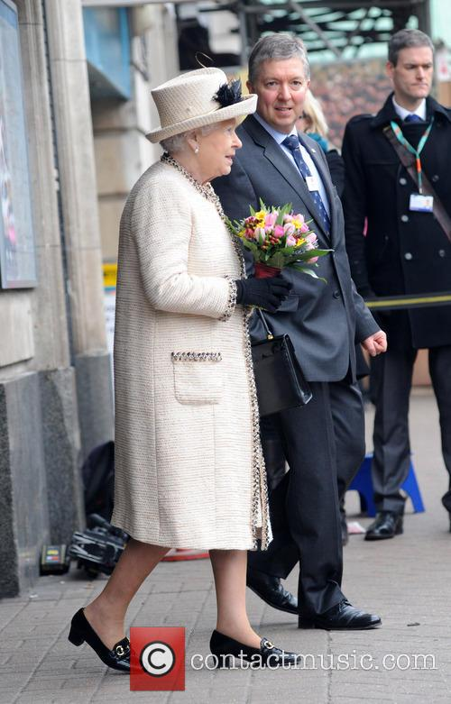 Members of the Royal Family visit Baker Street tube station to mark the 150th anniversary of the London Underground