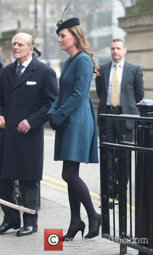Prince Philip, Catherine, Duchess Of Cambridge and Kate Middleton 1