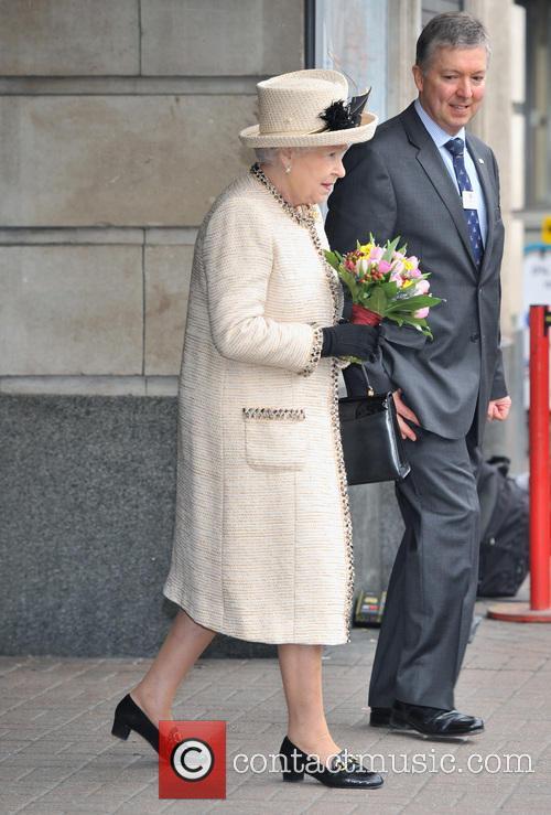 Members of the Royal Family visit Baker Street tube station