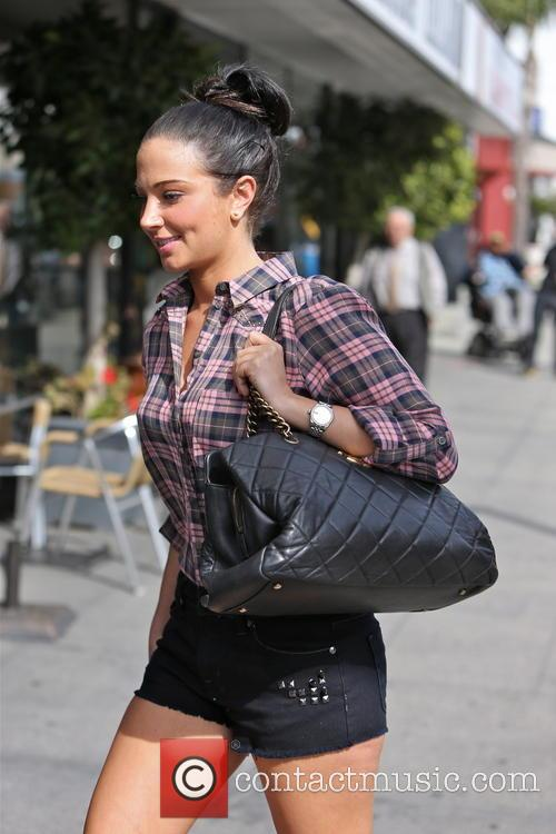 tulisa contostavlos tulisa arrives for a meeting 3566347