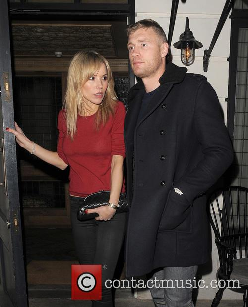 Andrew Flintoff Leaving Little House