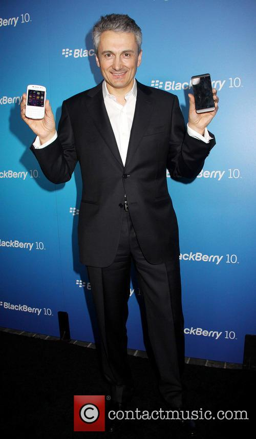 Frank Boulben and Blackberry Cmo 3