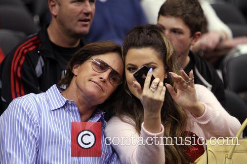 Bruce Jenner and Khloe Kardashian 1