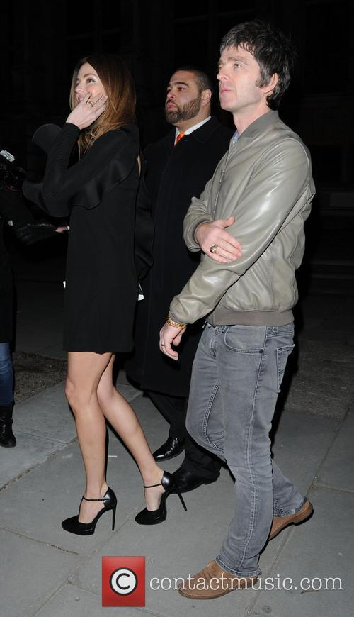 Sara Mcdonald and Noel Gallagher 2