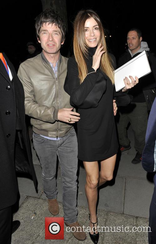 Noel Gallagher and Sara Macdonald 2
