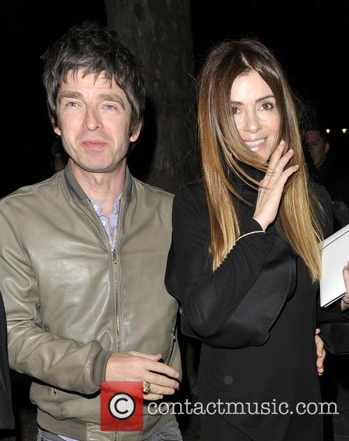Noel Gallagher and Sara Macdonald 6