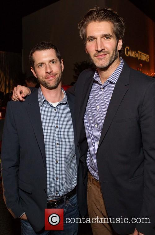 David Benioff and D.B. Weiss at 'Game of Thrones' season premiere