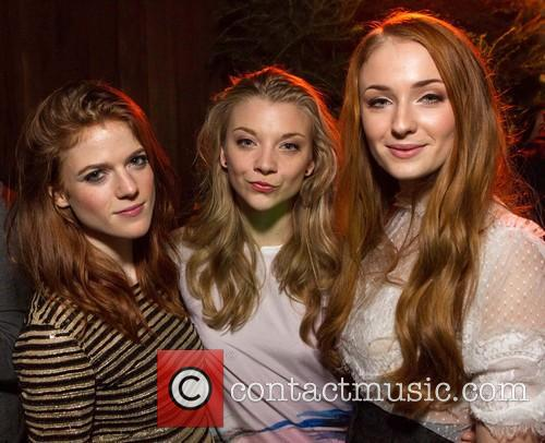 Rose Leslie, Natalie Dormer and Sophie Turner
