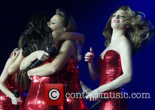 Kimberley Walsh, Nicola Roberts and Cheryl Cole 2