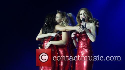 Kimberley Walsh, Nicola Roberts and Cheryl Cole 3