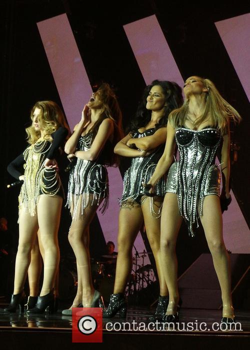 Nicola Roberts, Nadine Coyle, Cheryl Cole and Sarah Harding 12