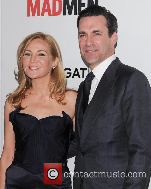 Jennifer Westfeldt and John Hamm 2