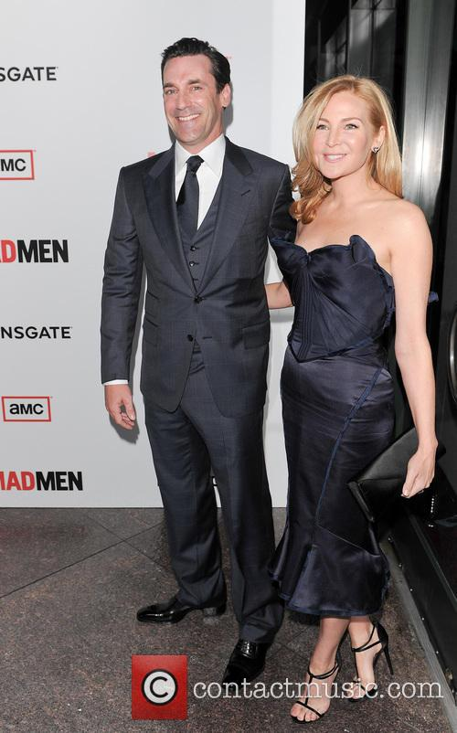 Jennifer Westfeldt and John Hamm 3