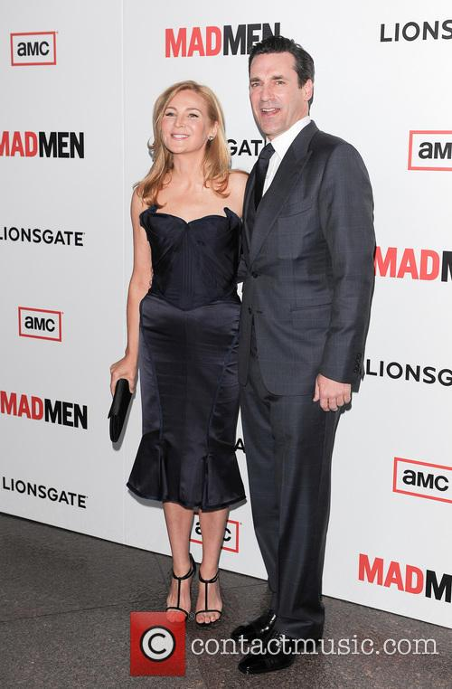 Jennifer Westfeldt and John Hamm 1