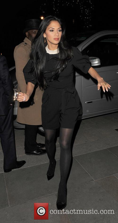 Nicole Scherzinger at 34 restaurant