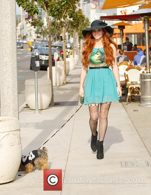Phoebe Price out and about