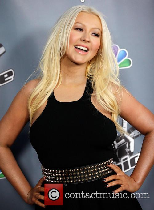 Christina Aguilera, The Voice Screening