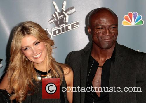Delta Goodrem and Seal 2