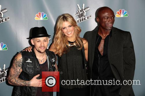Joel Madden, Delta Goodrem and Seal 2