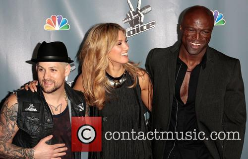 Joel Madden, Delta Goodrem and Seal 7