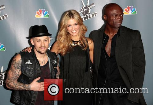 Joel Madden, Delta Goodrem and Seal 8