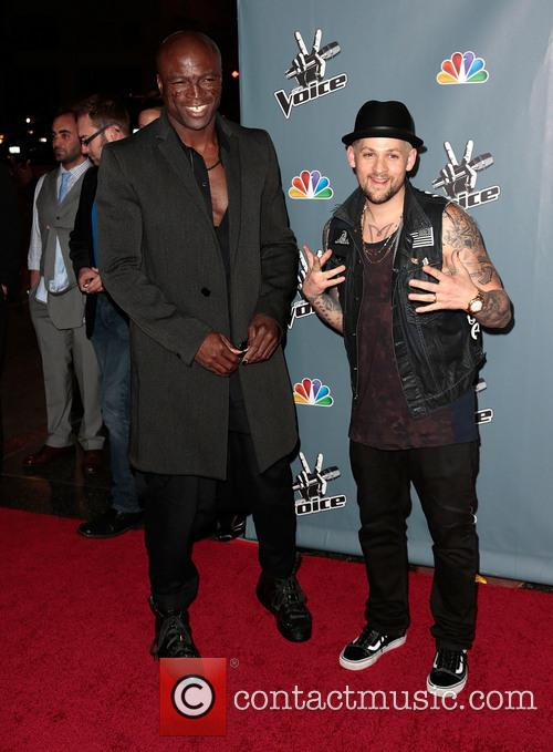Seal and Joel Madden 2