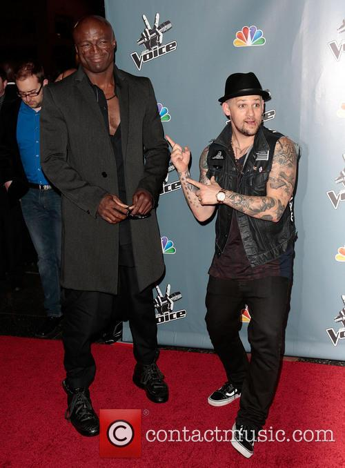 seal joel madden screening of nbcs the voice 3567499