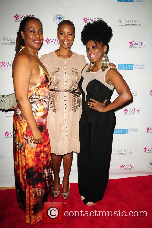 Sidra Smith, Yvonne Mccormack Lyons and Melky Jean 11