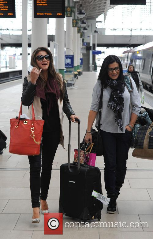 Brooke Vincent and Kym Marsh 2