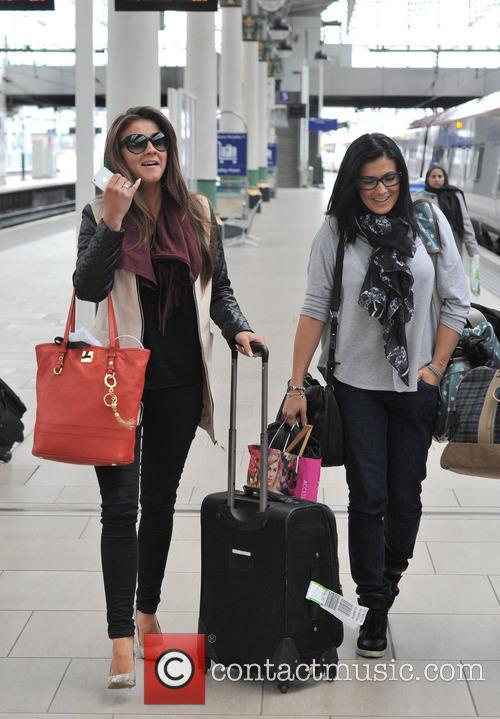 Brooke Vincent and Kym Marsh 4