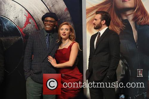 Samuel L. Jackson, Scarlett Johansson and Chris Pine 4