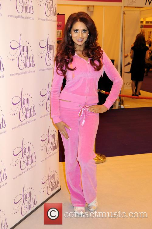 Amy Childs attends 'The Vitality Show'