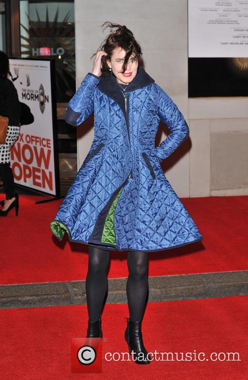 'The Book of Mormon' Opening Night held at the Prince of Wales Theatre - Arrivals