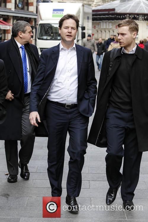 Nick Clegg at Capital Radio